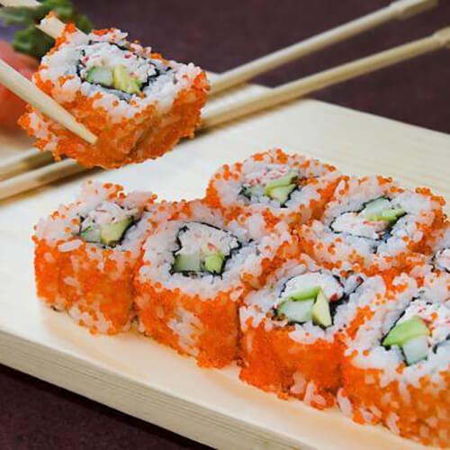 自制鱼松寿司