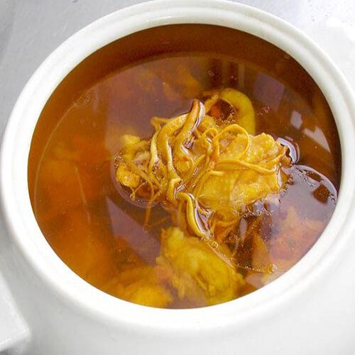 石斛虫草花汤
