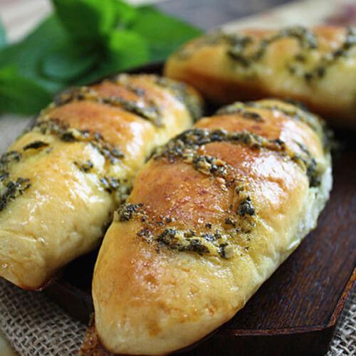 薄荷果粒面包