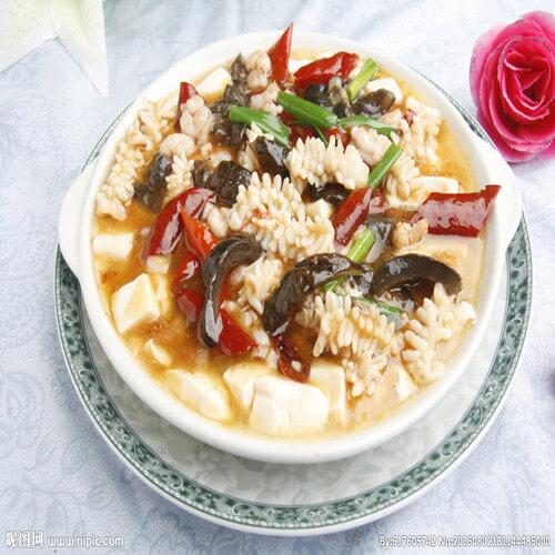 海鲜奶豆腐