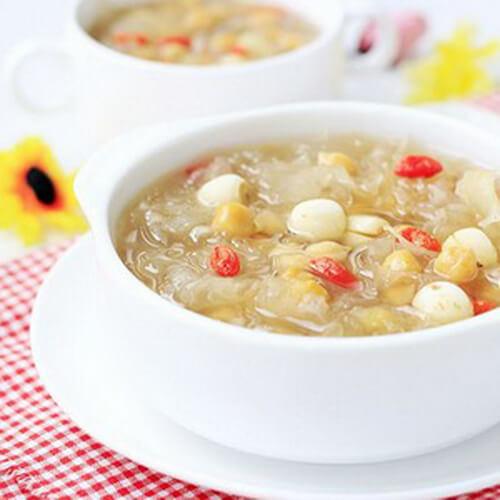 鹰嘴豆燕麦粥