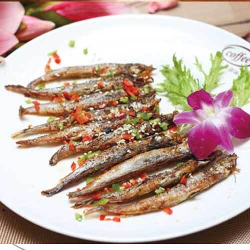 椒香多春鱼