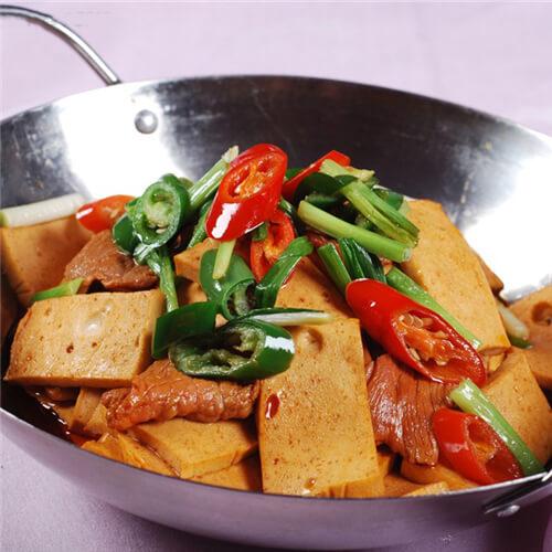 干锅脆豆腐