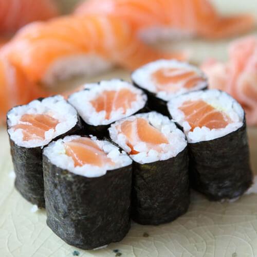 生鱼片寿司