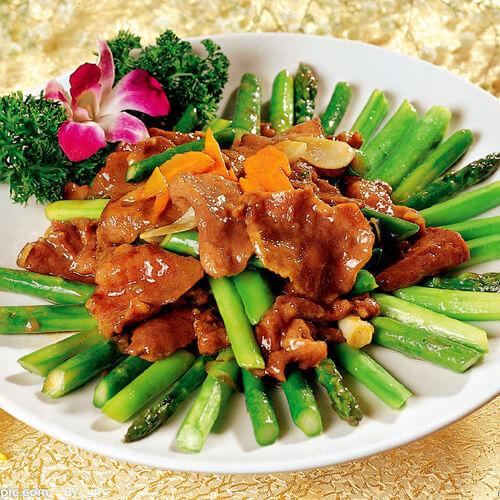 鸡茸酿芦笋