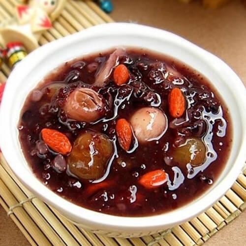 莲子百合桂园粥