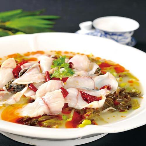 营养午餐酸菜鱼