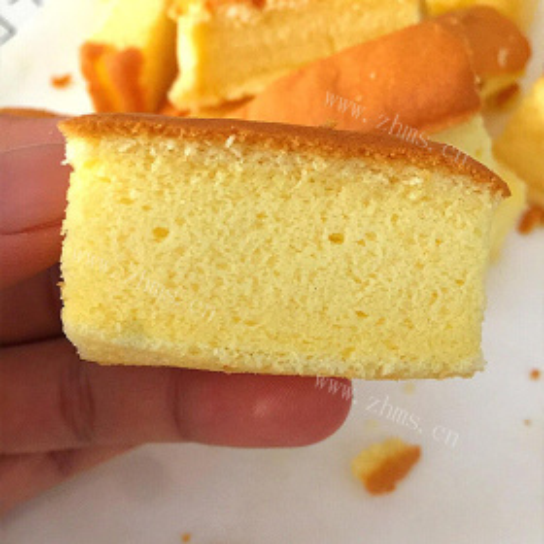 鹅蛋黄海绵小蛋糕