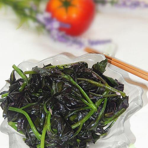 蒜蓉炒紫背天葵