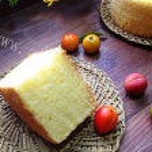 西番莲戚风蛋糕