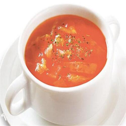 香菇番茄肉丁汤