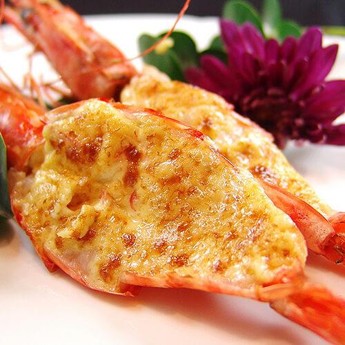 美味酥皮薯泥起司虾