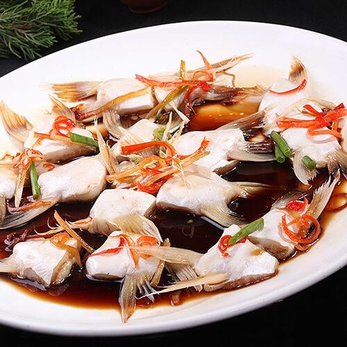 三味蒸鮰鱼
