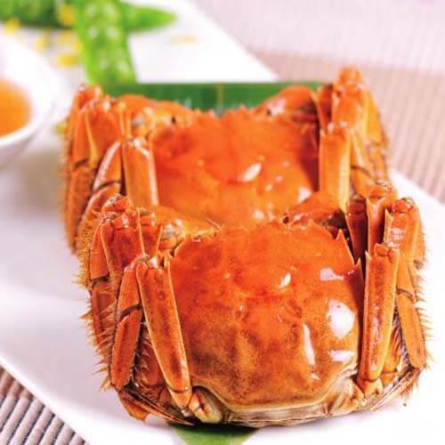 自制清蒸螃蟹