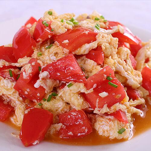 圆葱西红柿炒鹅蛋