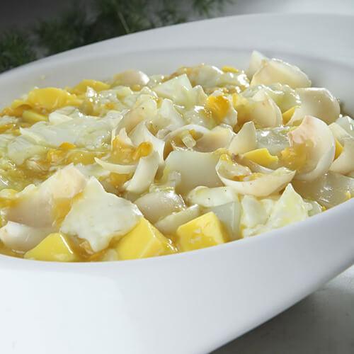 香甜玉米拌豆腐