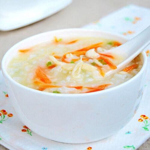 冰糖胡萝卜米粥