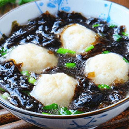 香菇鱼丸紫菜汤