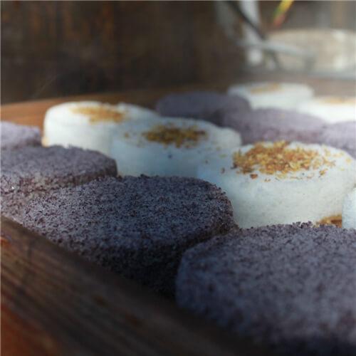 奶香桂花枸杞米糕