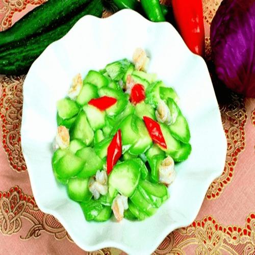 西胡炒西红柿虾仁