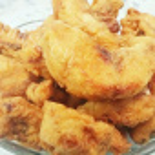 家常炸鲷鱼 炸虾