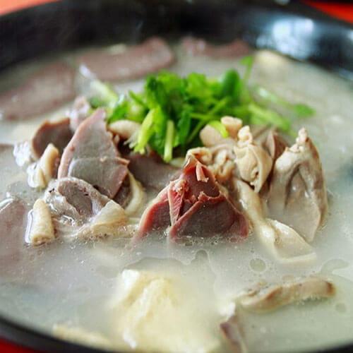 玉兰粉丝鸭架汤
