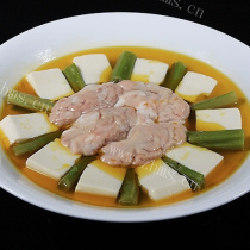 豆腐烩猪脑