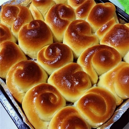 面包机版蜂蜜面包