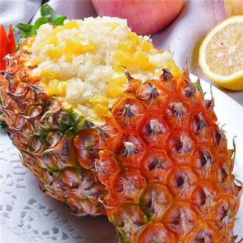 开胃菠萝饭