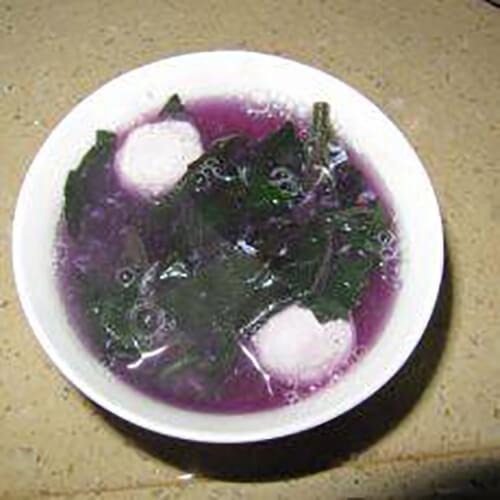 双丸滚紫背天葵