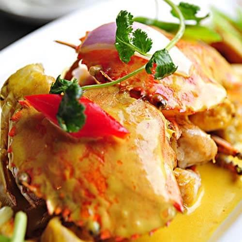 咖喱螃蟹土豆汤