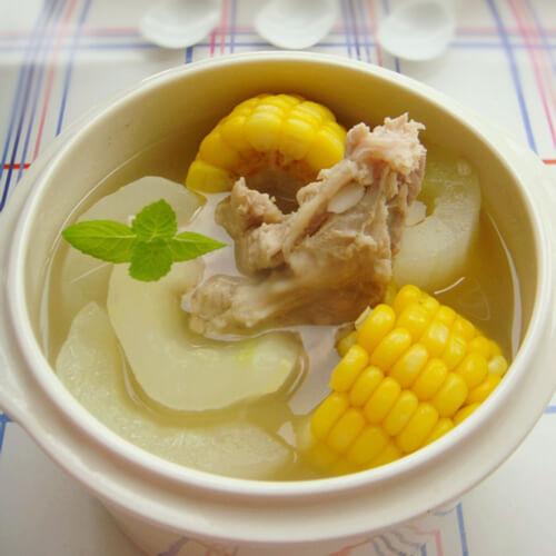 玉米羊骨汤