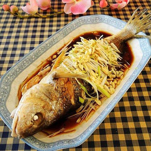 蒜香黄姑鱼