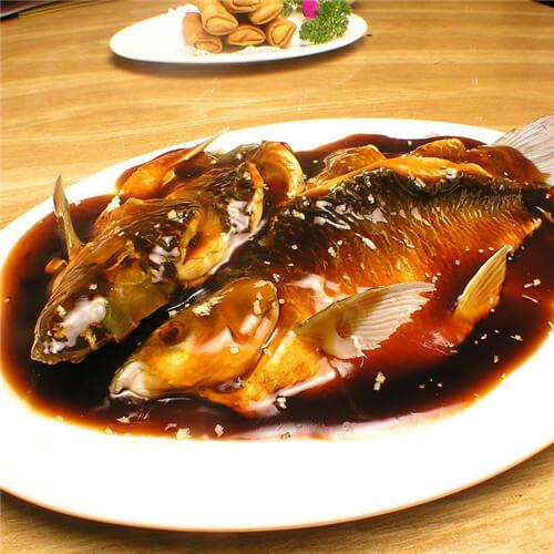 红烧鳙鱼块