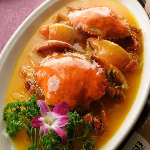 清水煮青蟹