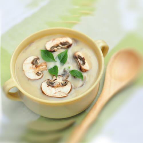 美美厨房之奶油蘑菇汤
