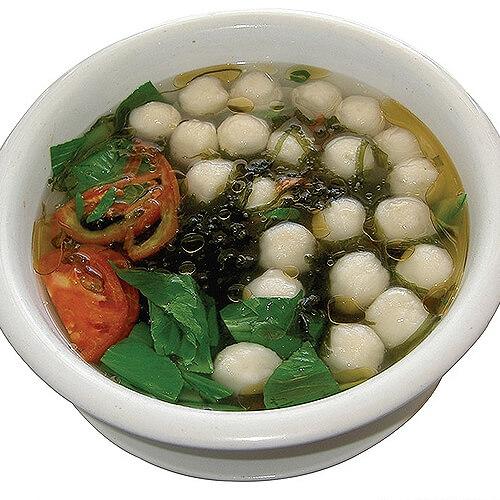 陈皮山楂鱼丸汤