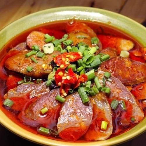 牛油冒菜火锅