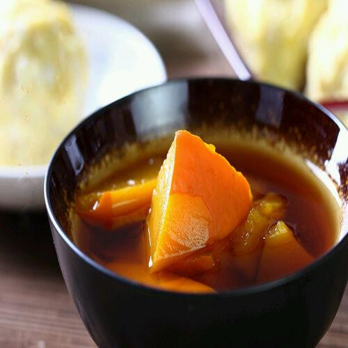 天然香甜的南瓜汤