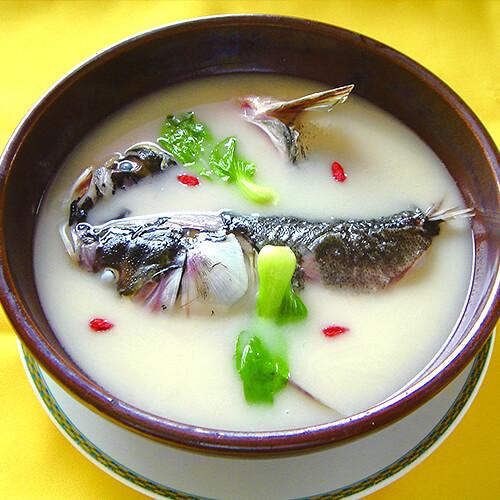 支竹粉丝鱼头汤
