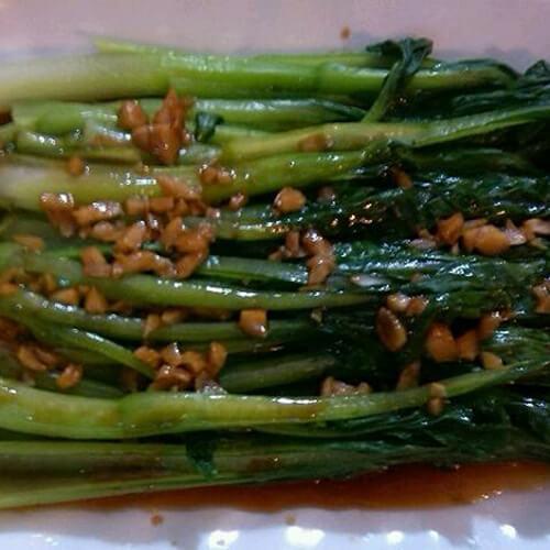 蒜香苔苔菜