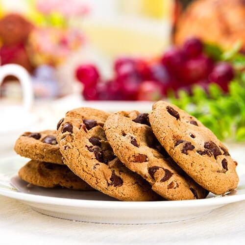 巧克力核桃奇谱饼干