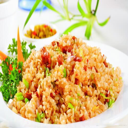 葫瓜瘦肉炒饭