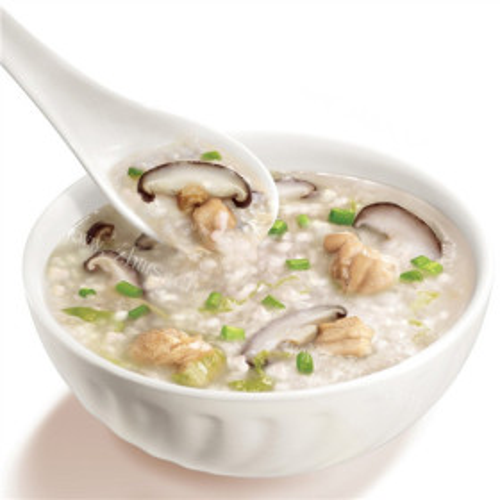 北极虾排骨咸味腊八粥