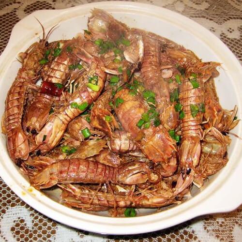 香辣濑尿虾