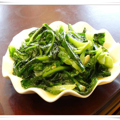 炒蒸莴笋叶