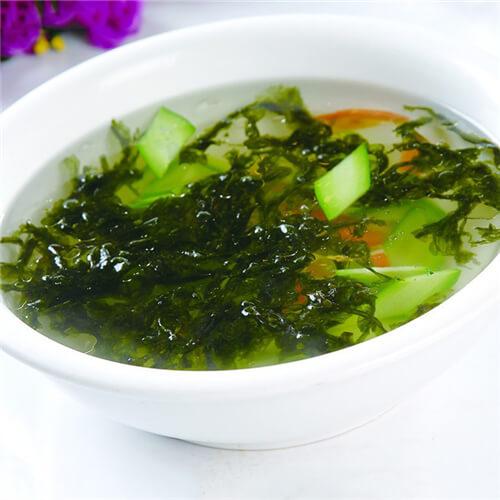 蛇瓜紫菜汤