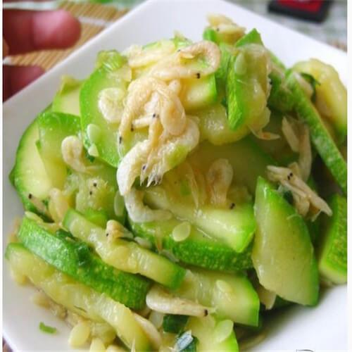 葫芦炒虾皮