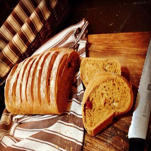 黑糖咖啡花样面包