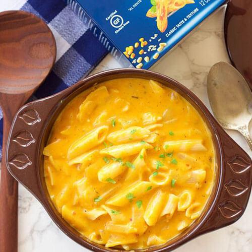南瓜奶酪通心粉